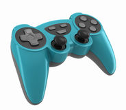 Gamepad. 3d render of a gamepad for videogames Royalty Free Stock Photography