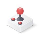 gamepad della leva di comando 3D Immagine Stock