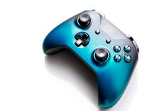 Gamepad from the game console isolated on a white background Stock Photography