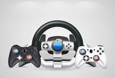 Gamepad - Game controllers Stock Photo