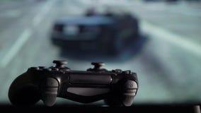 Gamepad i gemowa konsola zbiory wideo