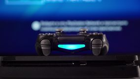 Gamepad i gemowa konsola zdjęcie wideo