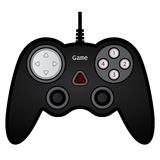 Gamepad joystick game controller. Illustration for the web Royalty Free Stock Images
