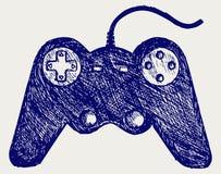 Gamepad joystick game controller Royalty Free Stock Image
