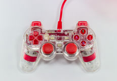 Gamepad joystick game. Controller console fun pad gaming gamer Royalty Free Stock Photo