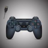 Gamepad joystick Joystick gemowa konsola Realistyczny wizerunek Zdjęcie Royalty Free
