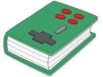 Gamepad-livro Fotografia de Stock Royalty Free