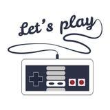 Gamepad-Logo Lizenzfreie Stockbilder