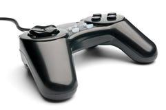 Gamepad negro Foto de archivo libre de regalías