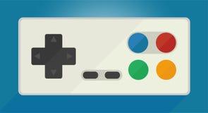 Gamepad para consoles velhos do jogo Fotografia de Stock Royalty Free