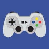 Gamepad piano dell'icona Fotografia Stock