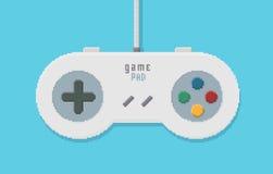 Gamepad Pixel Art Illustration Stock Photo
