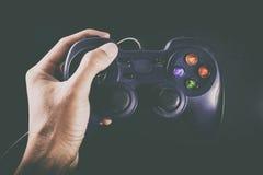 Gamepad pour le gamer images libres de droits