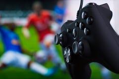 Gamepad preto Imagem de Stock