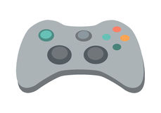 Gamepad Vector Illustration in Flat Design Royalty Free Stock Images