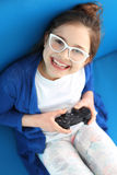 Gamepad, video game Royalty Free Stock Image