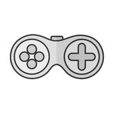 Gamepad videogame console Royalty Free Stock Photography