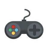 Gamepad videogame console Royalty Free Stock Photos