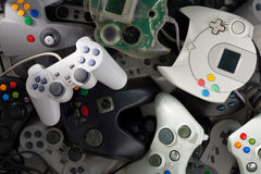 Gamepads Photo stock