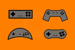 Gamepads Stock Photography