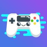 Gamepag för vektorlägenhetdesign bakgrund Fotografering för Bildbyråer