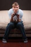 gamer śpiący Zdjęcia Stock