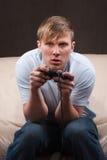 gamer νυσταλέος Στοκ φωτογραφία με δικαίωμα ελεύθερης χρήσης