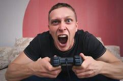 gamer 免版税库存图片