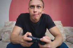 gamer 图库摄影
