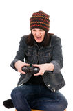 gamer 免版税图库摄影