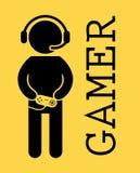 Gamer Royalty Free Stock Photos