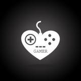 Gamer control Royalty Free Stock Image