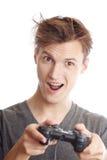 Gamer do computador Imagens de Stock