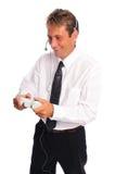 Gamer do negócio Foto de Stock