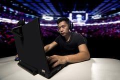 Gamer ESports профессиональный конкурсный стоковая фотография rf