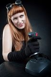 Gamer girl Royalty Free Stock Photos