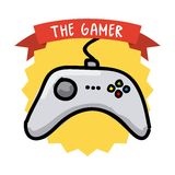 Gamer icon Stock Images