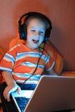 Gamer joven Imagenes de archivo