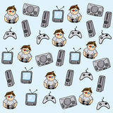 Gamer pattern Royalty Free Stock Photography