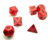 Gamer's Dice Stock Photo