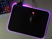 Το ποντίκι υπολογιστών για τα gamers, μπορεί να χρησιμοποιηθεί στα παιχνίδια και σε ένα προσωπικό Η/Υ r στοκ φωτογραφίες με δικαίωμα ελεύθερης χρήσης