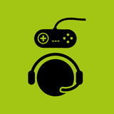 Gamers play icon Royalty Free Stock Image
