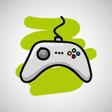 Gamers play icon Stock Photo