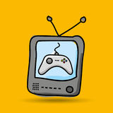 Gamers play icon Royalty Free Stock Photos