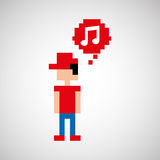 Gamers play icon Stock Photography