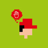 Gamers play icon Royalty Free Stock Images