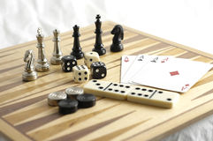 Games 2. Games on display Royalty Free Stock Image