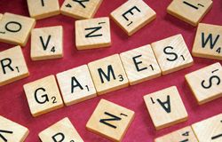 Games Royalty Free Stock Photo