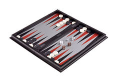 Games backgammon Royalty Free Stock Photography