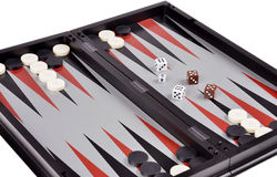 Games backgammon Royalty Free Stock Photos